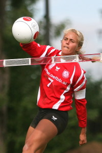 Girl fistball