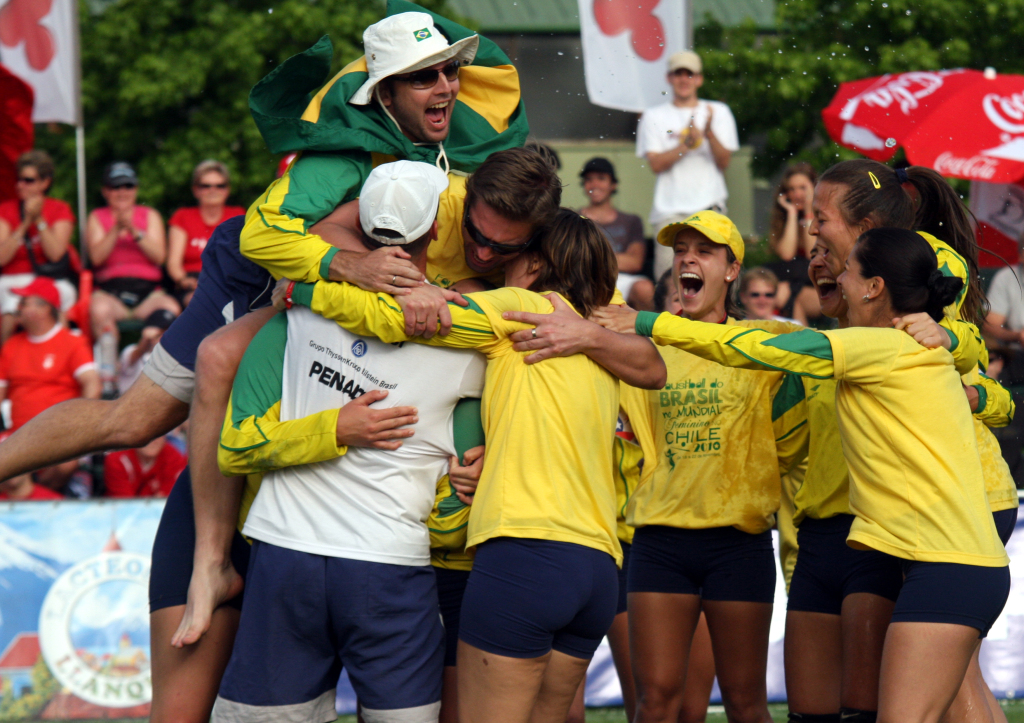 Brazill fistball team
